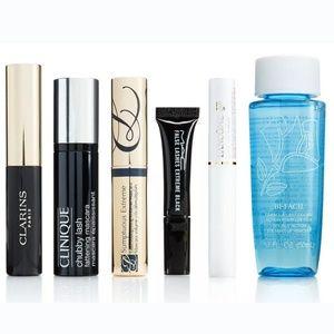 LASHSTASH Mascara Sampler w/ Lancome Makeup Remove